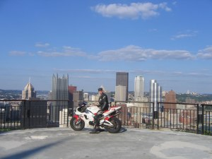 Me on the top of Mt. Washington in Pittsburgh